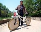 Xe đạp bánh méo