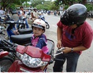 Trẻ nhỏ nên đội loại mũ bảo hiểm nào?