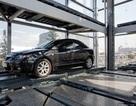 Tham quan tháp để xe bằng kính ở Nga