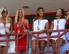 """Những """"bóng hồng"""" trên trường đua Valencia"""