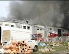 Cháy lớn tại chợ của người Việt ở Ba Lan gây thiệt hại nặng
