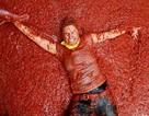 """Chùm ảnh: Cà chua """"nhuộm đỏ"""" thị trấn"""