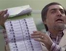 Afghanistan hoãn công bố kết quả bầu cử từng phần