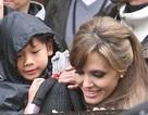 Pax Thiên thăm mẹ tại trường quay