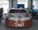 Siêu xe Bugatti làm từ vỏ bao thuốc lá