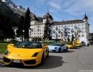 Đội hình Lamborghini vượt núi Alps