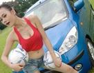 Hyundai i10 cùng người mẫu Việt hòa nhịp World Cup