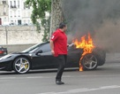 Thêm một siêu xe Ferrari 458 Italia bốc hỏa