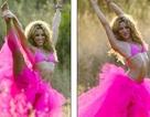 Shakira: Rực rỡ váy hồng