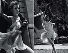 Chùm ảnh đen trắng ấn tượng của Alessandra Ambrosio