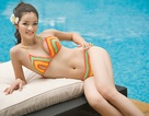 Thí sinh Hoa hậu Việt Nam gợi cảm với bikini