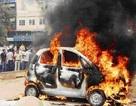 Thêm một vụ cháy xe Tata Nano