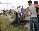 Lại một vụ đánh chết kẻ trộm chó, thiêu rụi xe máy