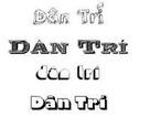 Download bộ font chữ hiệu ứng 3D đẹp mắt