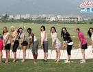 Người đẹp Hoa hậu thế giới đánh golf
