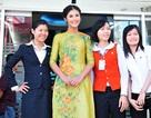 Hoa hậu Ngọc Hân đã đến TPHCM cùng Tứ linh