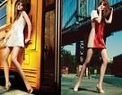 Caroline Trentini: Váy ngắn khoe chân dài