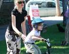 Gia đình Gwen Stefani vui chơi trong công viên