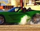 """Video quay chậm xe Dodge Viper """"đốt lốp"""""""