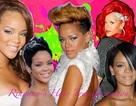 Choáng với những kiểu tóc liên tục thay đổi của Rihanna