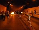 Diễn tập phòng chống cháy nổ trong hầm Hải Vân