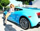 Ca sĩ Mỹ gốc Việt sở hữu Lamborghini màu độc