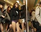 Bạn trẻ Đài Loan… mặc quần chip đi tàu điện ngầm