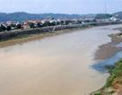 Nước sông Hồng bất ngờ chuyển màu đục ngầu
