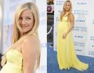 Kate Hudson rực rỡ váy vàng
