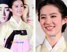 Lưu Diệc Phi lúng túng vì lần đầu mặc Hanbok