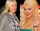 Christina Aguilera thiếu sức sống vì thiếu lớp trang điểm