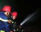 Cháy lớn tại nhà máy mì Tịnh Phong