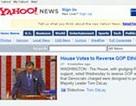 Yahoo thay đổi giao diện trang tin