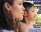 Angelina Jolie và con trai Pax Thiên xuất hiện trên bìa Hello