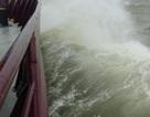 Biển động rất mạnh vì áp thấp nhiệt đới
