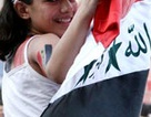 Chùm ảnh CĐV Iraq cuồng nhiệt trong niềm vui chiến thắng