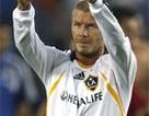 Beckham chính thức ra mắt trong màu áo LA Galaxy