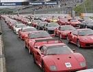 Kỷ lục thế giới 500 chiếc Ferrari diễu hành đồng thời
