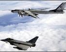 Máy bay Anh chặn máy bay ném bom chiến lược Nga