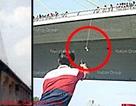 Phát hiện đầu người nước ngoài treo dưới cầu Bangkok