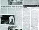 Công khai tên người vi phạm Luật Giao thông trên báo