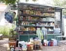 Cửa hàng tạp hóa di động giữa Hà Nội
