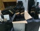 Thu giữ hàng trăm chai rượu mác ngoại không rõ nguồn gốc