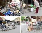 Xe đạp trong lòng phố Hội