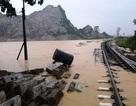 Rót tiền sửa 24 công trình đường sắt phòng, chống lụt bão