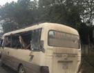 Va chạm với xe quân sự, 9 người trên xe khách gặp nạn