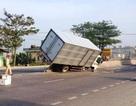 Xe chưa kịp lắp biển số đã gây tai nạn