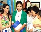 Hoa hậu Ngọc Hân giản dị làm giáo viên