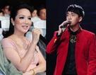 Hoa hậu Giáng My chê Ngô Kiến Huy hát không rõ lời