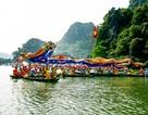 Hàng nghìn thuyền rước trong lễ hội Đức Thánh Quý Minh Đại Vương